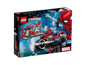 lego 76113 spider man motorcykelraddning