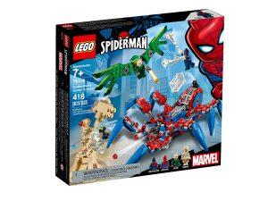 lego 76114 spider mans spindelrobot