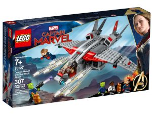 lego 76127 captain marvel och skrullattacken
