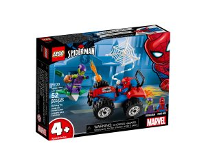 lego 76133 spider man biljakt