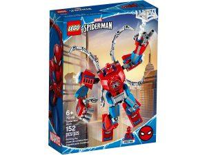 lego 76146 spider mans robot