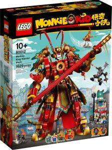 lego 80012 monkey kings krigarrobot