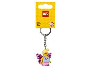 lego 853795 fjarilsflicka nyckelring