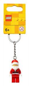lego 854040 nyckelring med glad jultomte