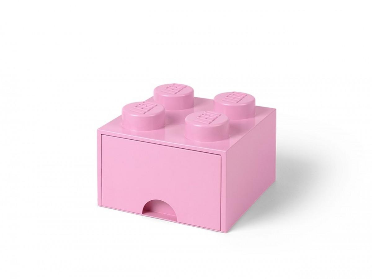 ljuslila lego 5006173 forvaringskloss med 4 pluppar och lada scaled