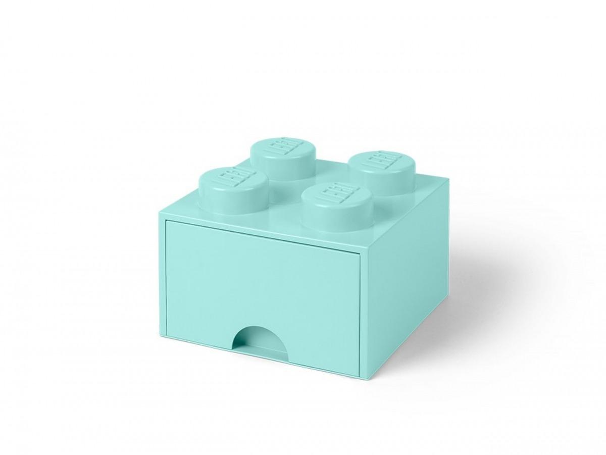 ljusturkos lego 5005714 forvaringskloss med 4 pluppar och lada scaled