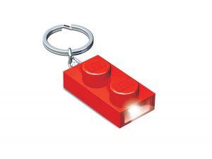 rod lego 5004264 1x2 nyckelring med lampa