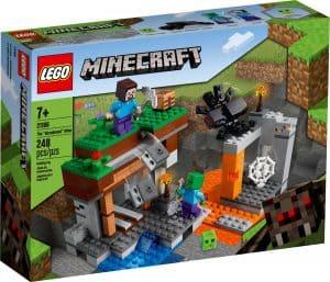 lego 21166 den overgivna gruvan