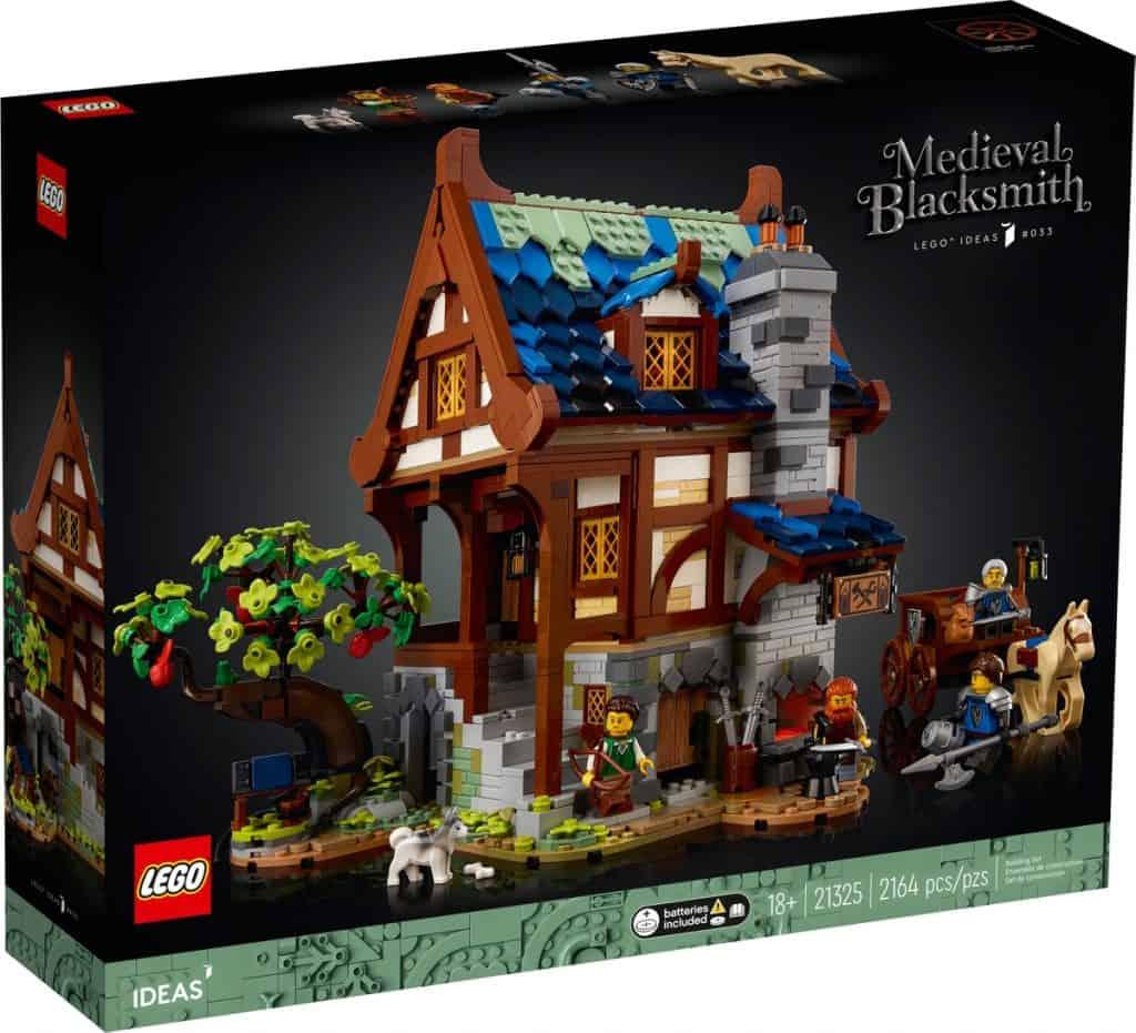 LEGO 21325 Medeltida smed