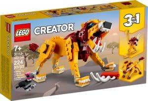 lego 31112 vilt lejon