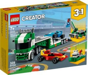lego 31113 racerbilstransport