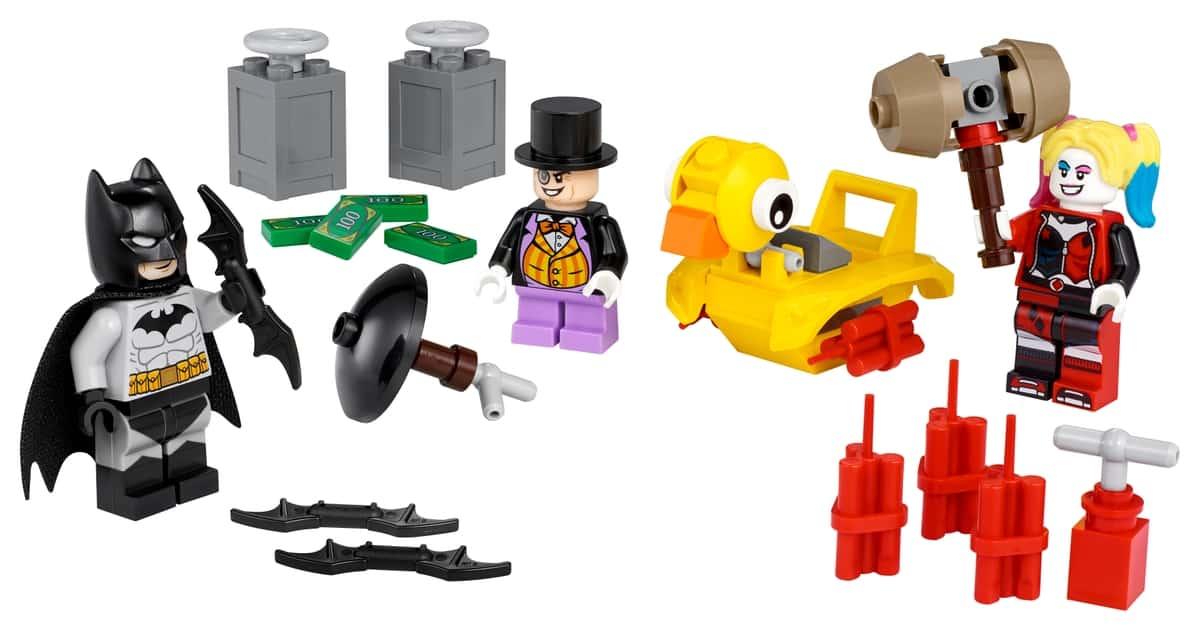 lego 40453 batman mot pingvinen och harley quinn