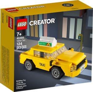 lego 40468 gul taxi
