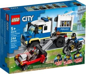 lego 60276 polisens fangtransport