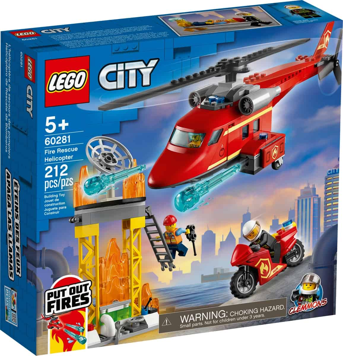 lego 60281 brandraddningshelikopter