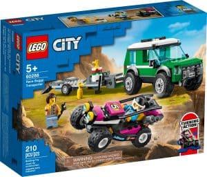 lego 60288 transport med racerbuggy