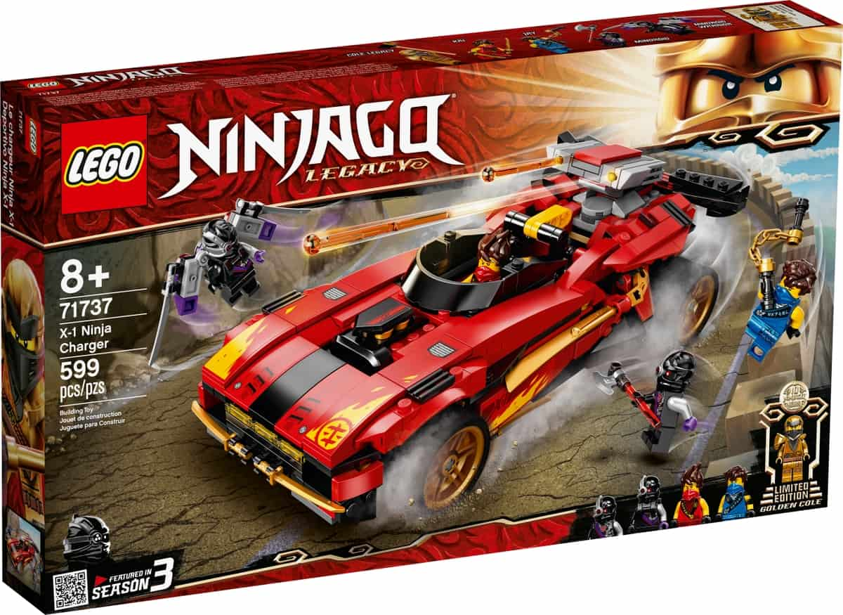 lego 71737 x 1 ninjamobil