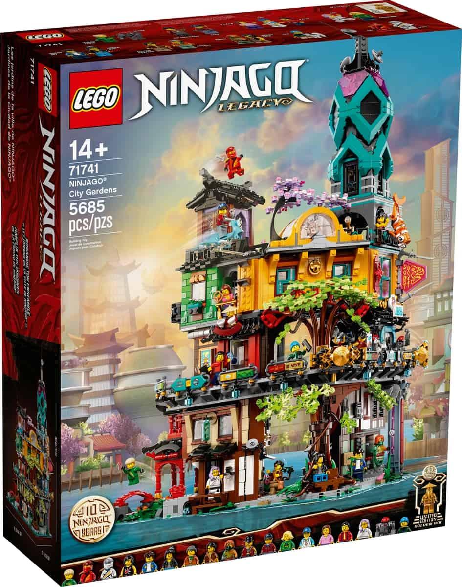 lego 71741 ninjago citys tradgardar