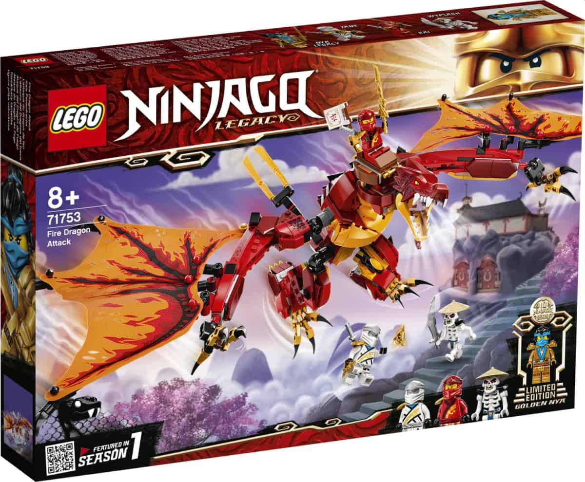 LEGO 71753 Fire Dragon Attack - 20210502
