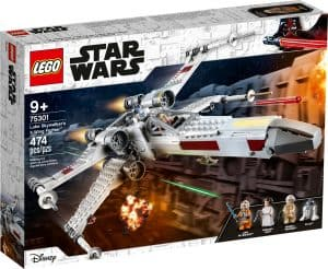lego 75301 luke skywalkers x wing fighter