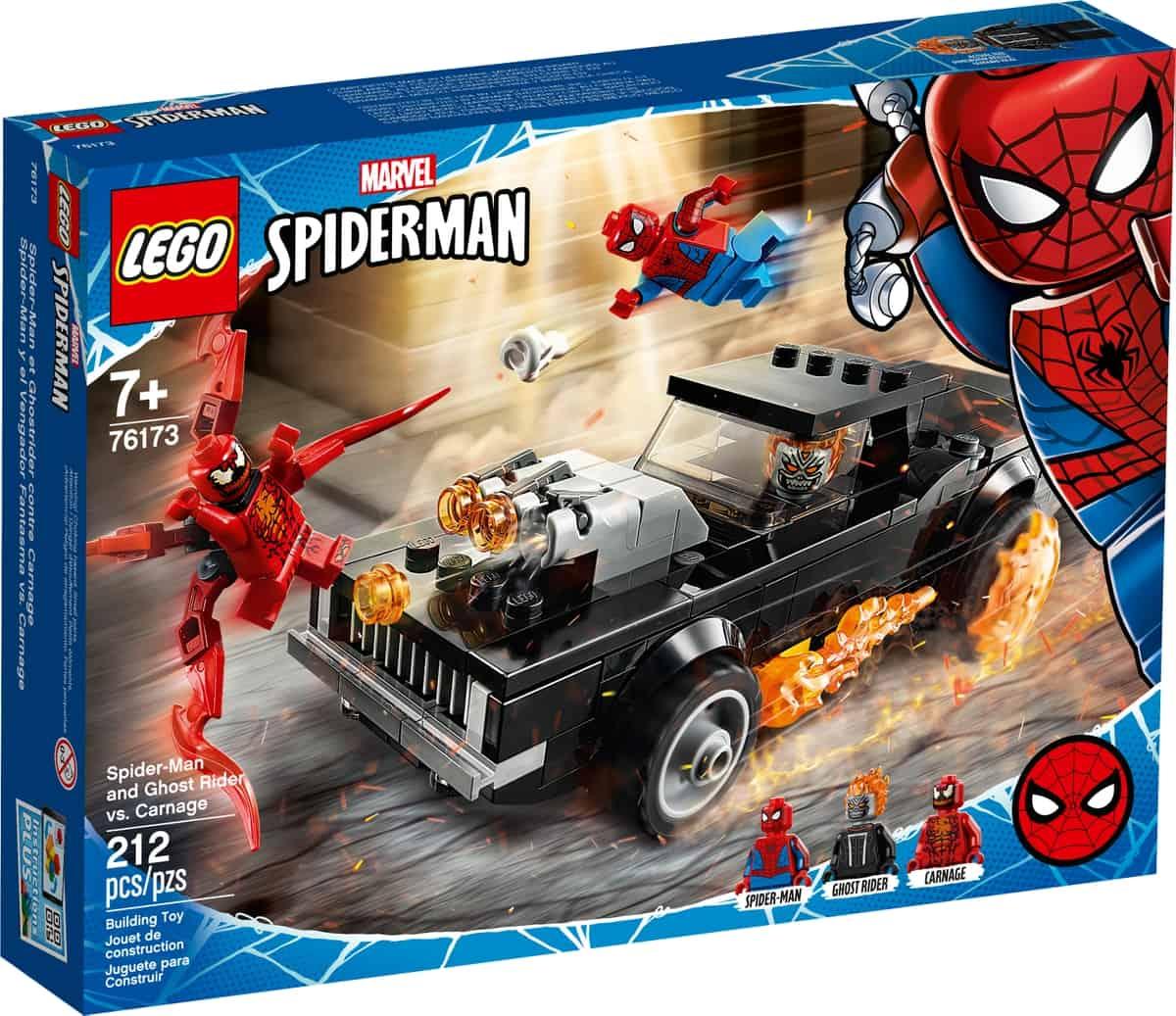 lego 76173 spider man och ghost rider mot carnage