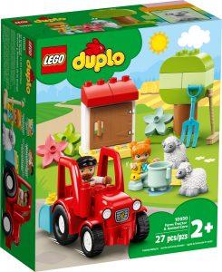 lego 10950 traktor och djurskotsel