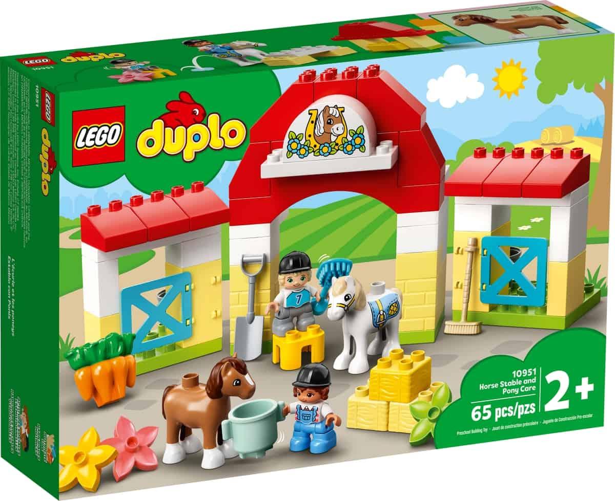 lego 10951 haststall och ponnyskotsel