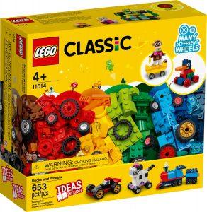 lego 11014 klossar och hjul