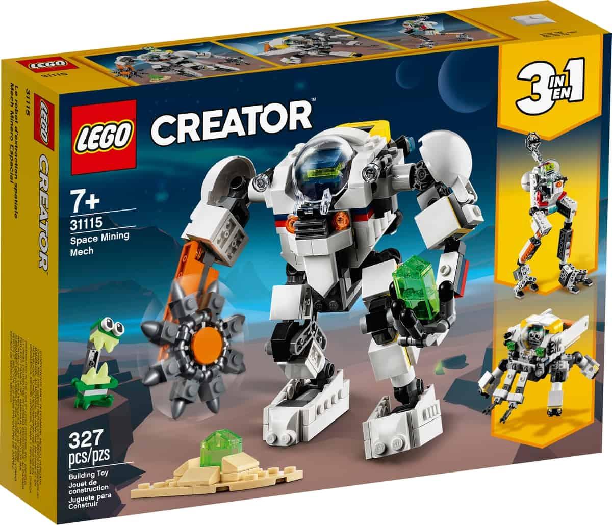 lego 31115 rymdgruvrobot