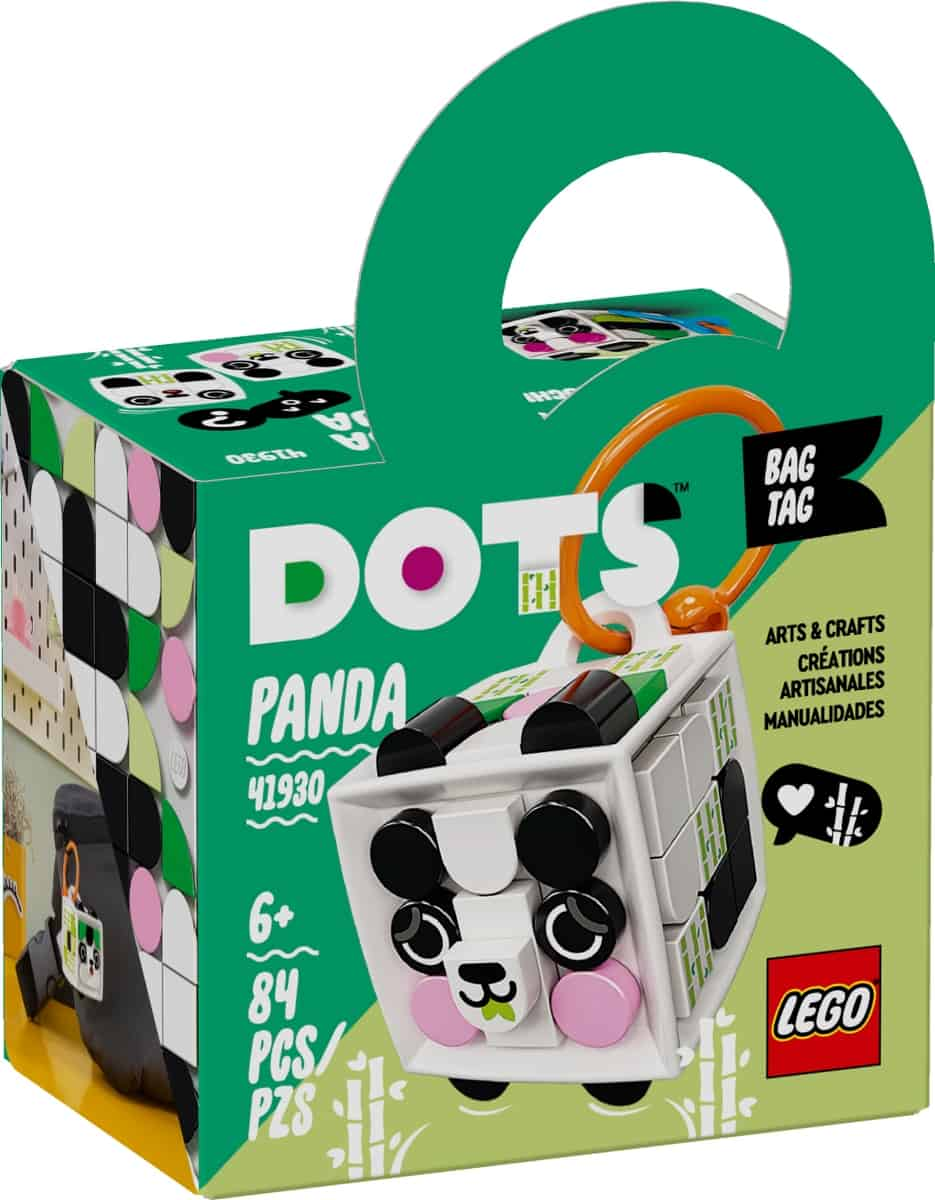lego 41930 bagagetagg panda