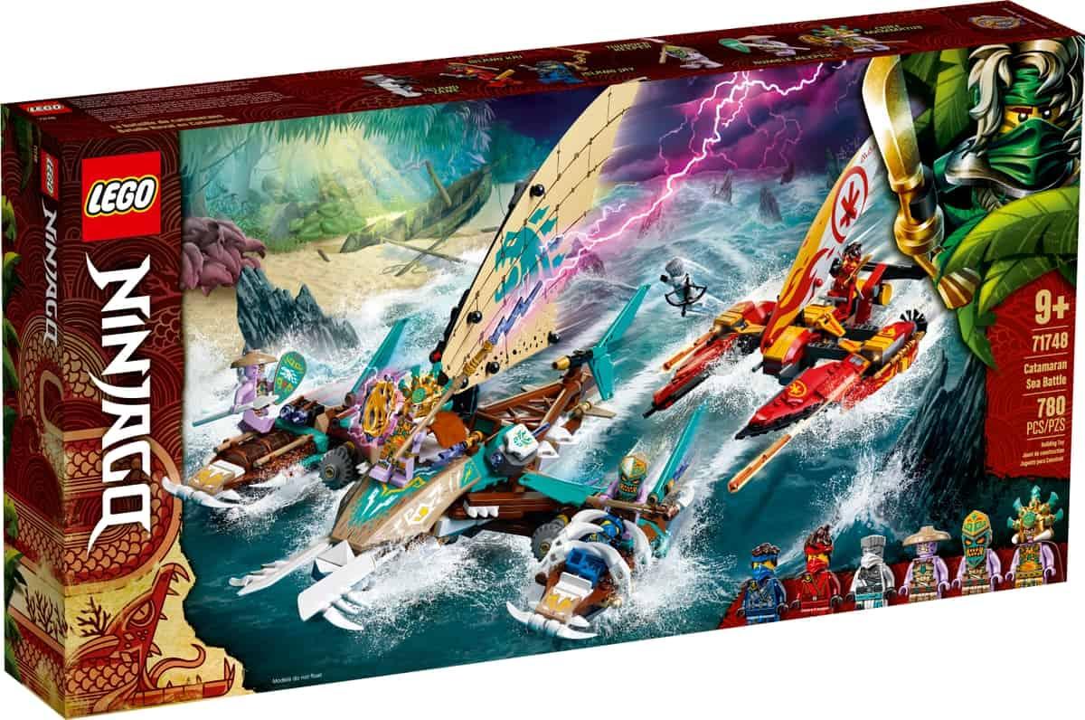 lego 71748 havsstrid med katamaran