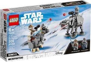 lego 75298 at at vs tauntaun microfighters