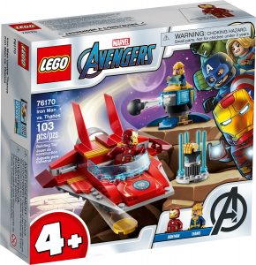 lego 76170 iron man mot thanos