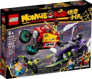 lego 80018 monkie kids molncykel