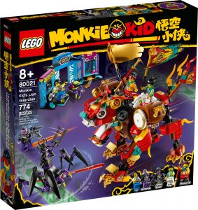 lego 80021 monkie kids lejonvaktare