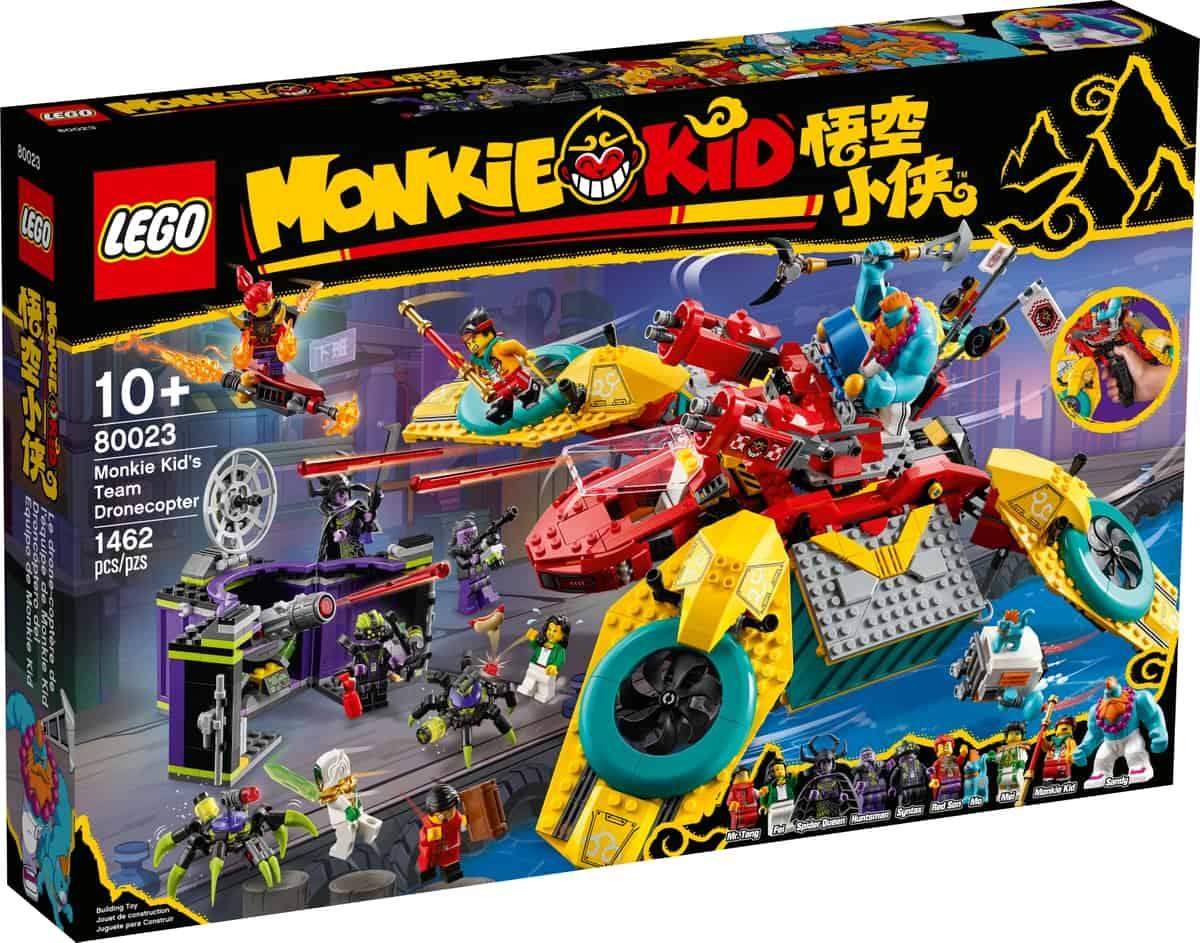 lego 80023 monkie kids dronokopter