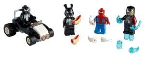 lego 40454 spider man mot venom och iron venom