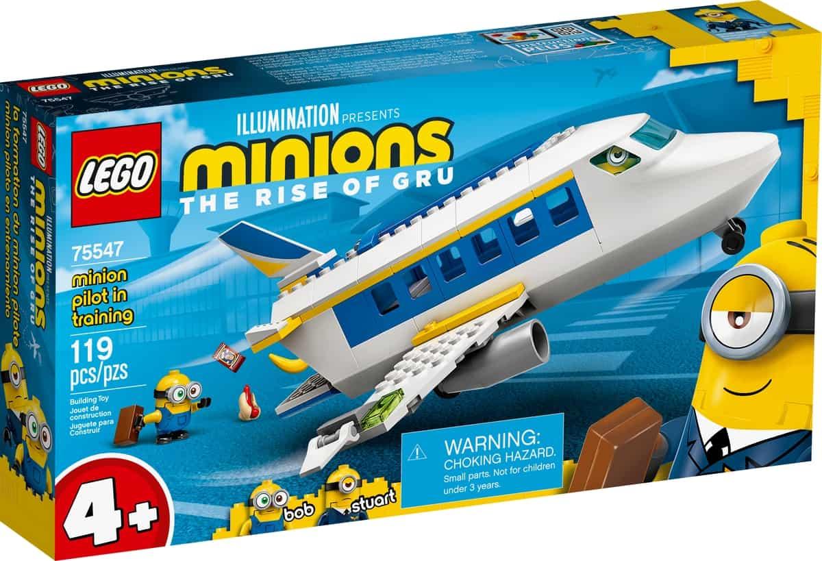 lego 75547 minion i pilotutbildning