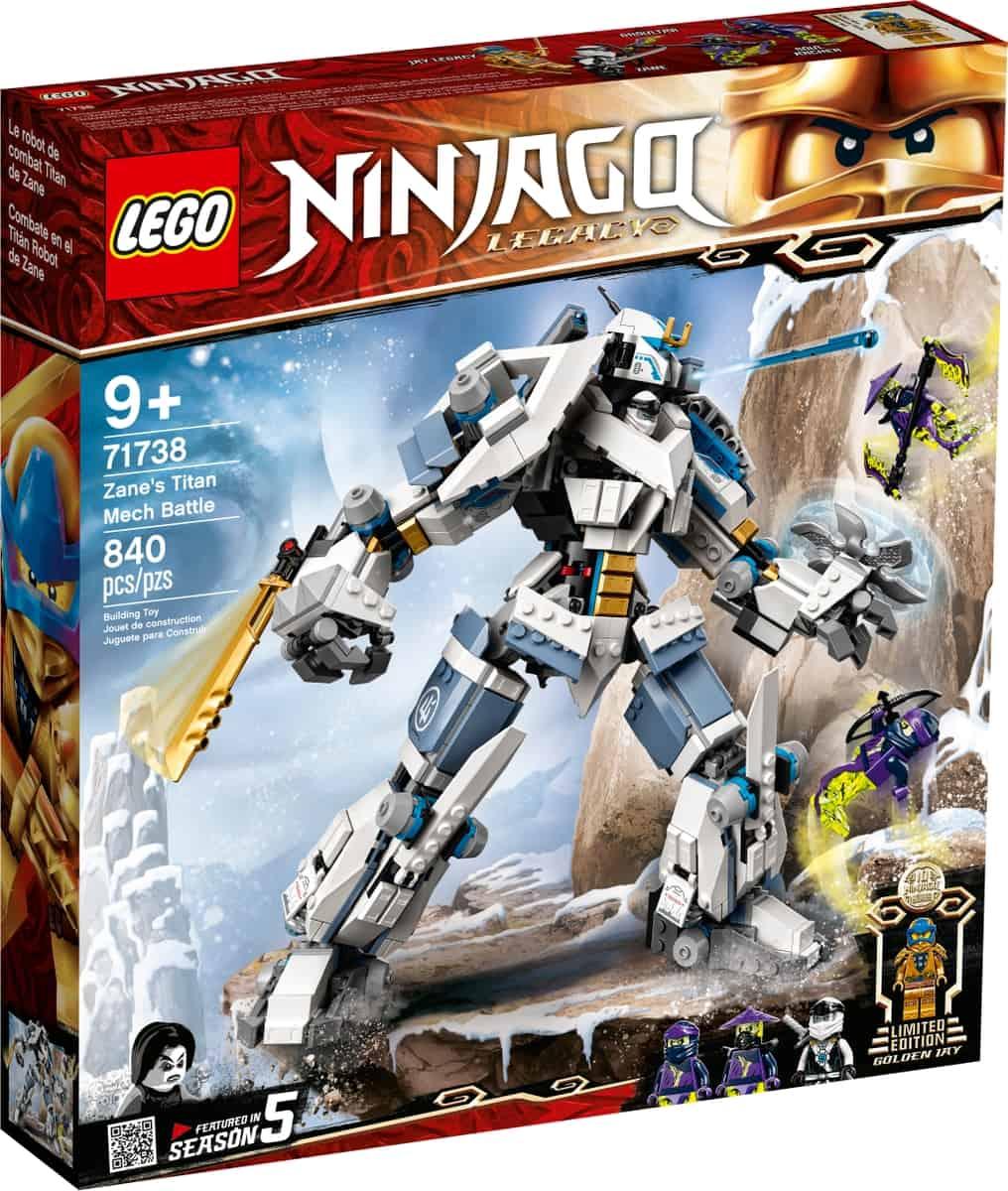 lego 71738 zanes titanrobotstrid