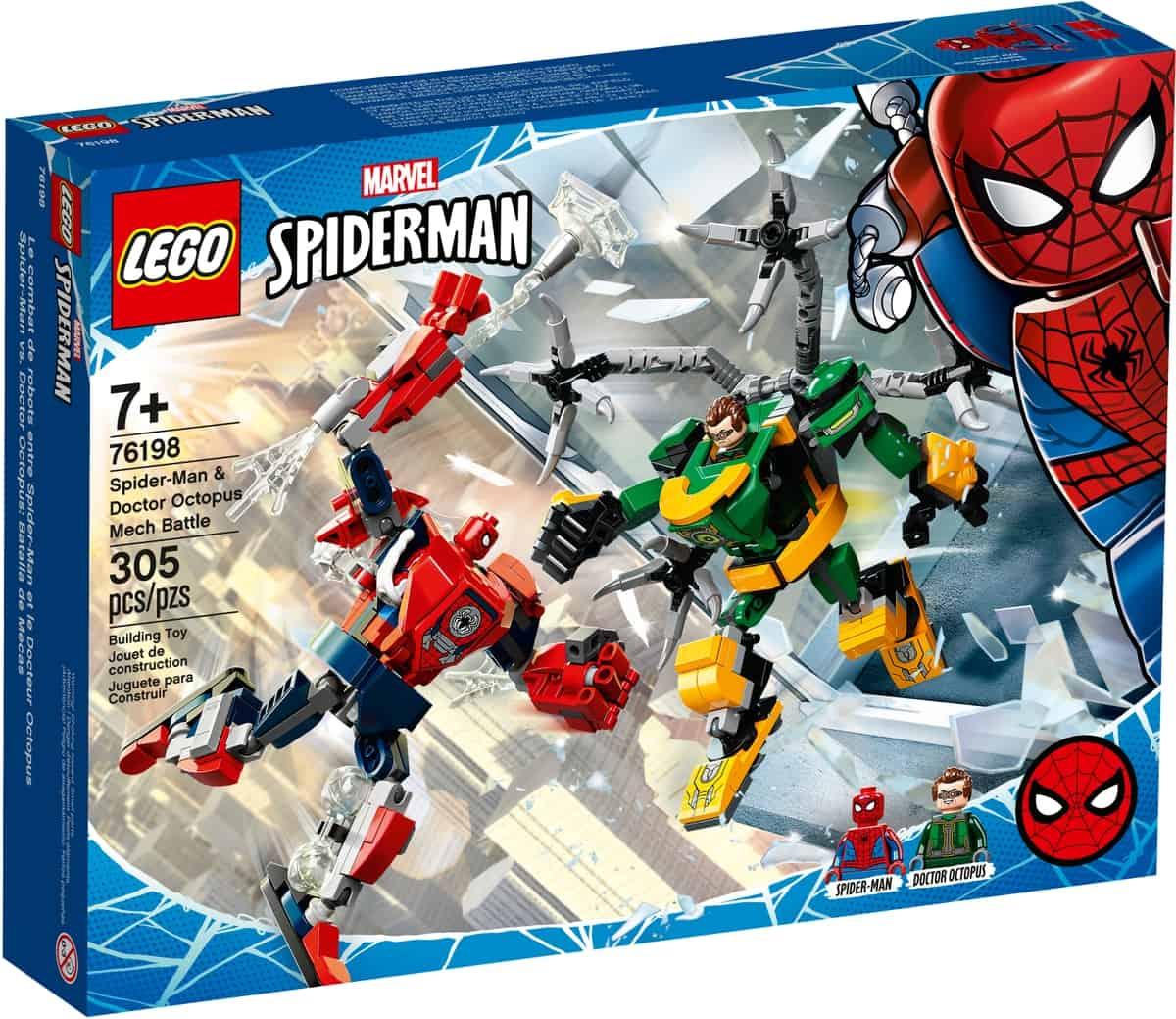 lego 76198 spider man doktor octopus i robotstrid