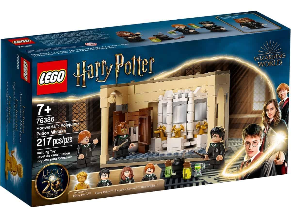 lego 76386 hogwarts misstag med polyjuice