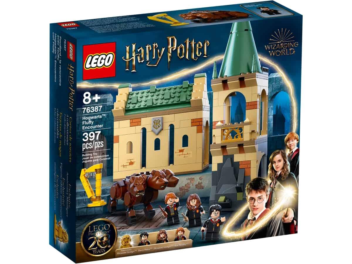 lego 76387 hogwarts motet med fluffy