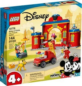 lego 10776 musse och hans vanner brandstation och brandbil