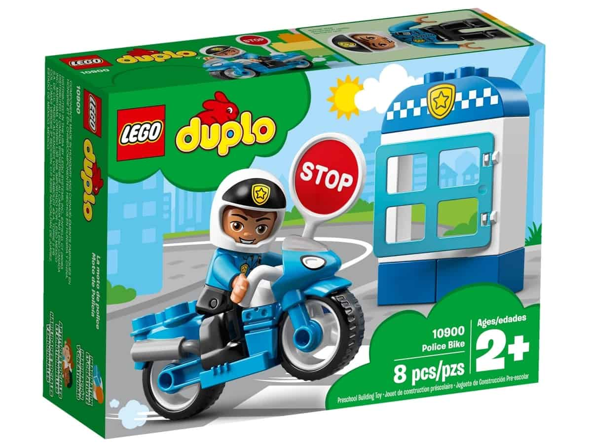 lego 10900 polismotorcykel