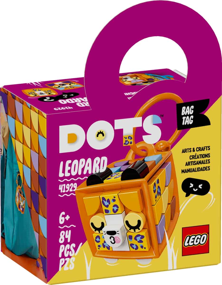 lego 41929 bagagetagg leopard