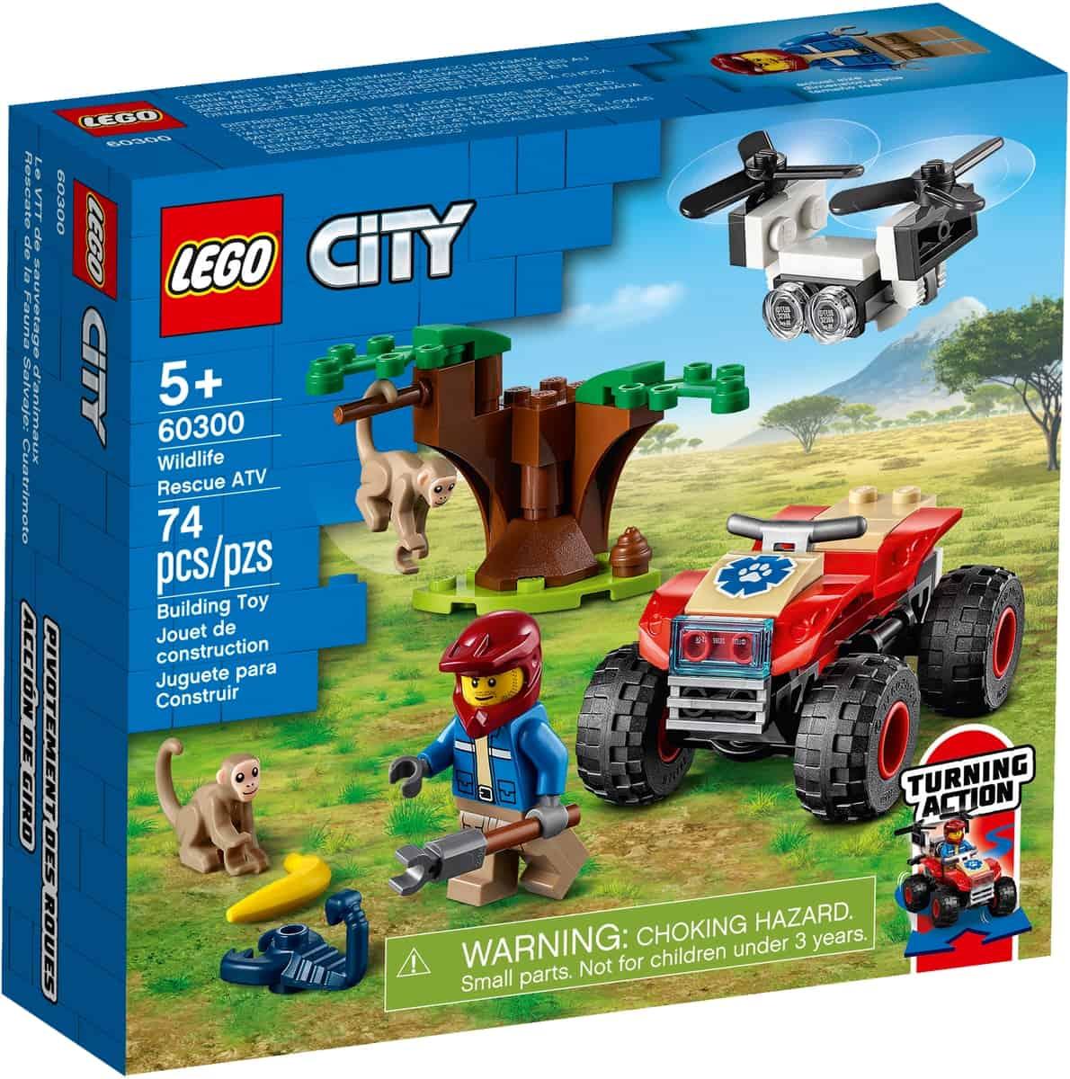 lego 60300 djurraddningsfyrhjuling