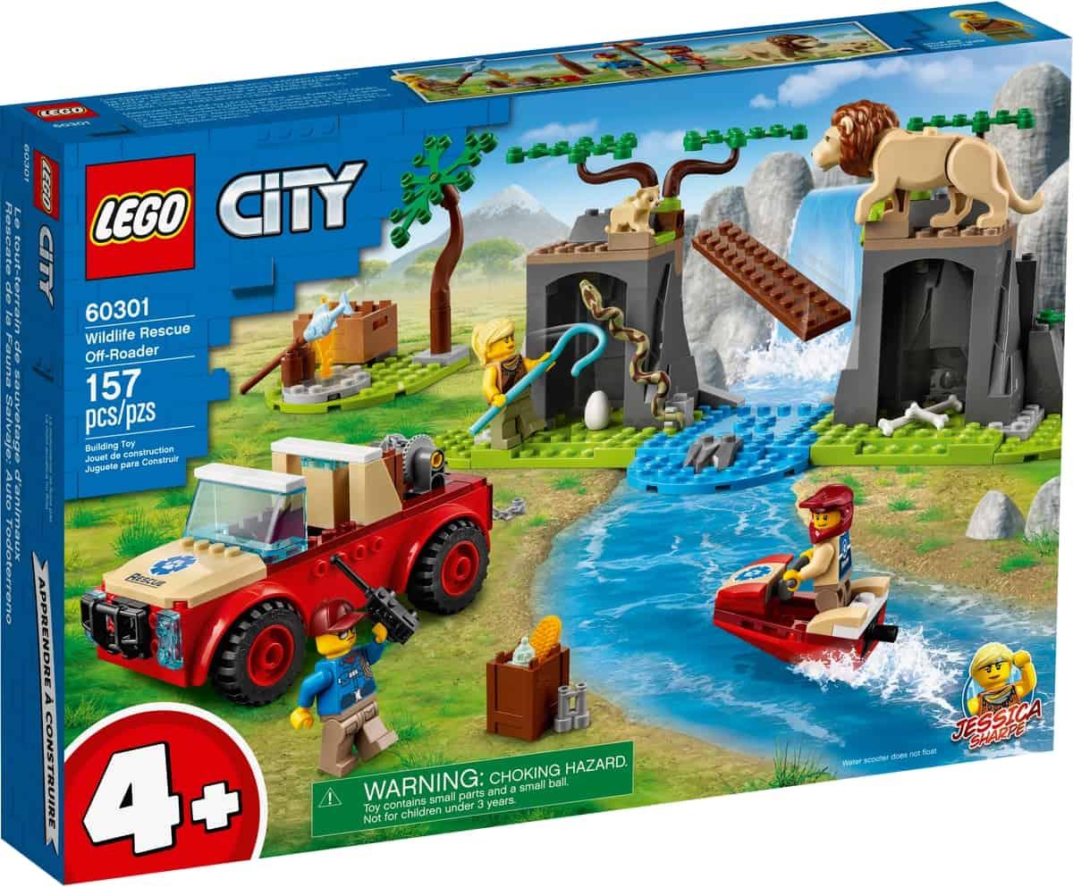 lego 60301 djurraddningsterrangbil