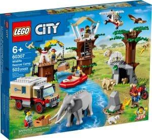 lego 60307 djurraddningslager