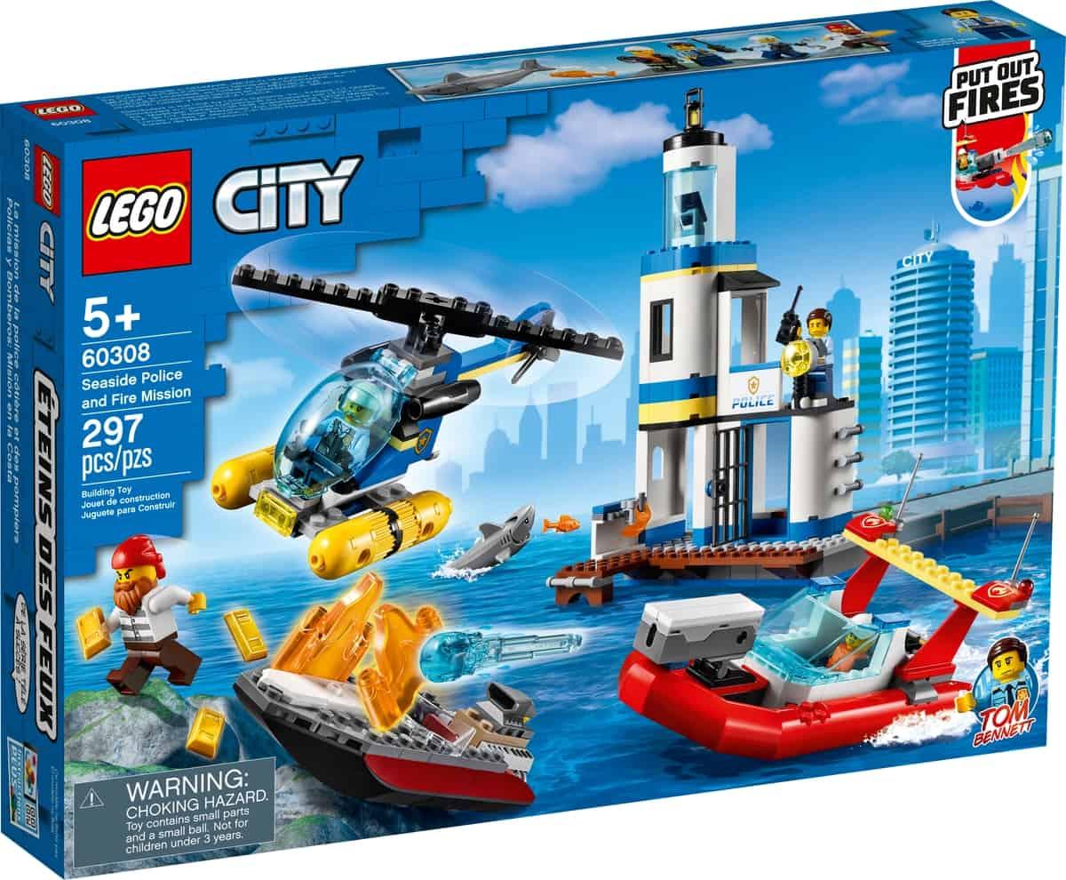lego 60308 sjopolis och brandkarsuppdrag