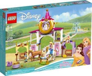 lego 43195 belle och rapunzels kungliga stall